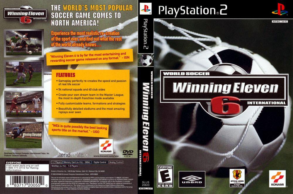 World Soccer: Winning Eleven 6 sebagai game sepak bola PlayStation terbaik