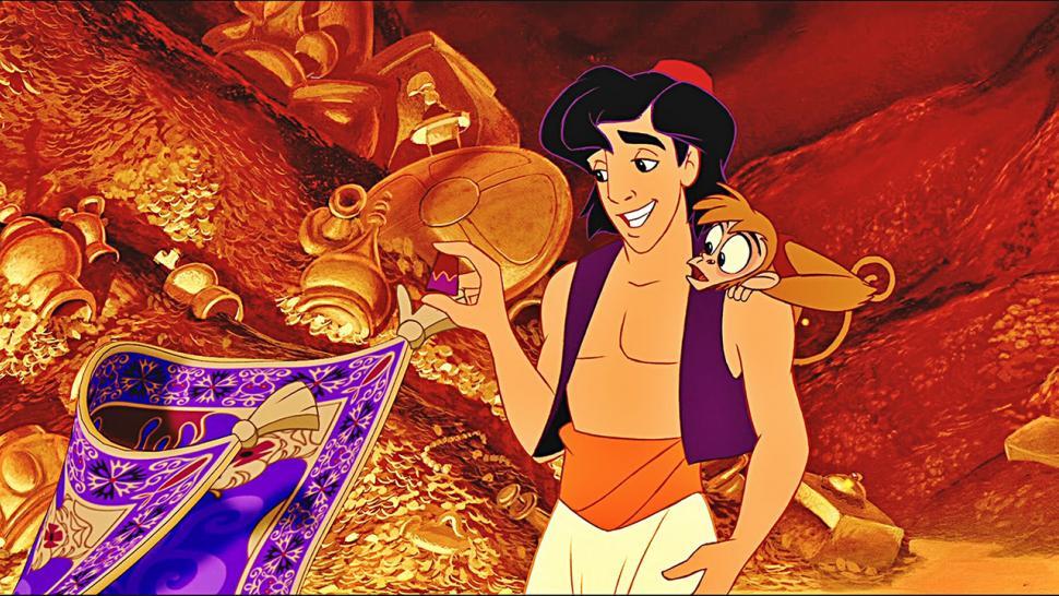 versi animasi Aladdin