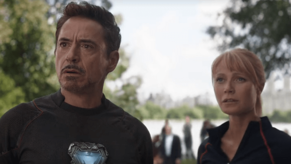 Tony Stark dan Pepper Potts