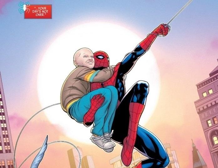 Spider-Man ketika membawa Spider-Bite