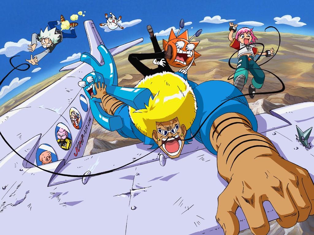 Bobobo-bo Bo-bobo anime mirip One Punch Man