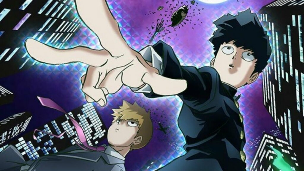 anime Mob Psycho 100 anime mirip One Punch Man