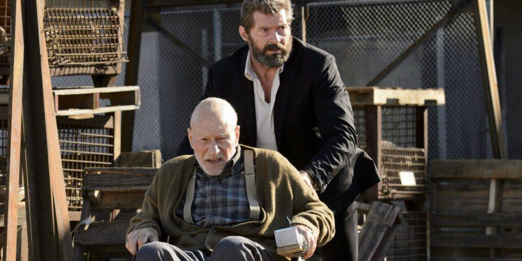 Logan dan Charles Xavier