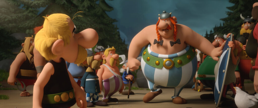 Asterix dan Obelix dalam film Asterix: The Secret of Magic Potion