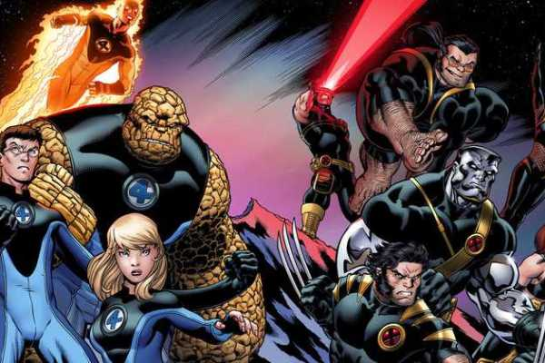X-Men dan Fantastic Four