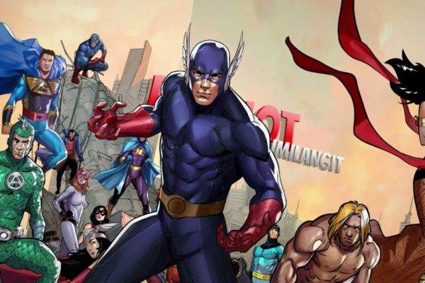 cover superhero dari semesta BumiLangit