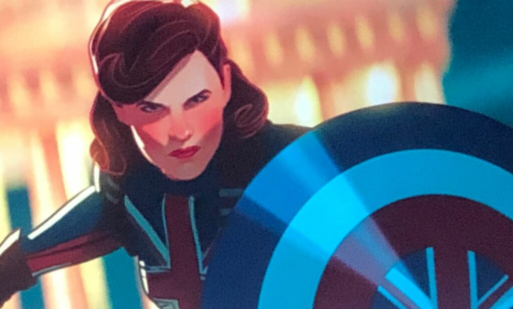 Peggy Carter sebagai Captain Britain