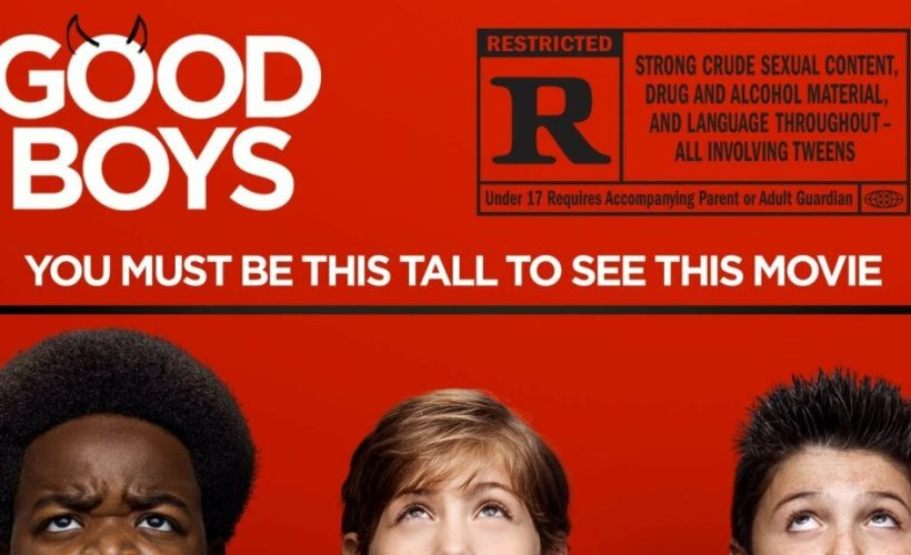 cover film Good Boys 2019