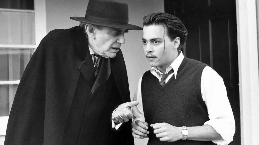 Johnny Depp dalam film Ed Wood