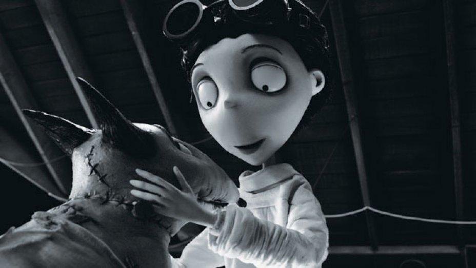 film hitam putih Frankenweenie