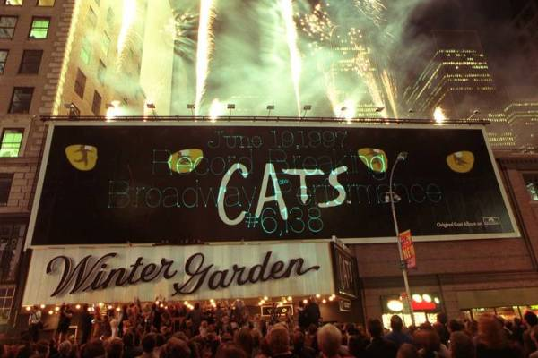 pementasa Cats di Broadway