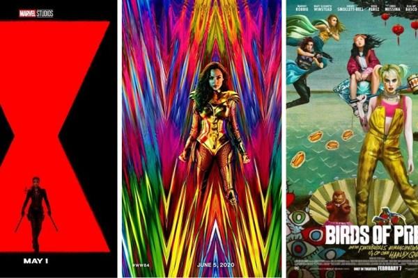 poster film superhero wanita