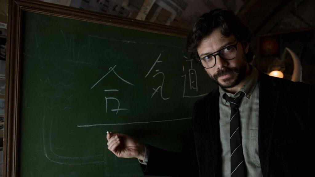 Professor di serial Money Heist