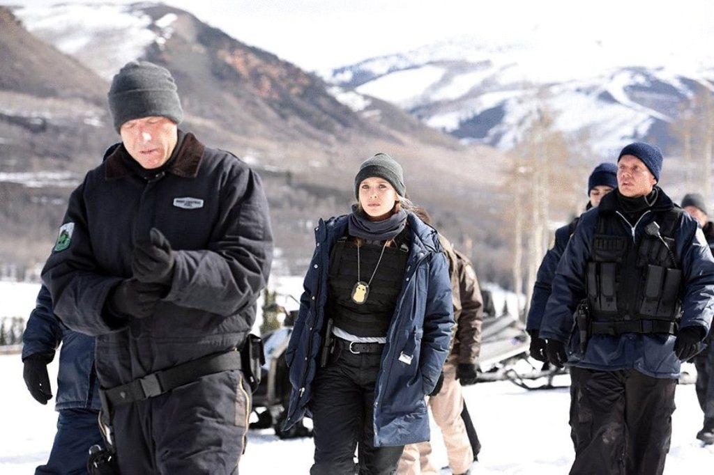 film aksi di tempat salju