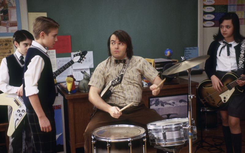 School of Rock Jack Black film bertema musik terbaik