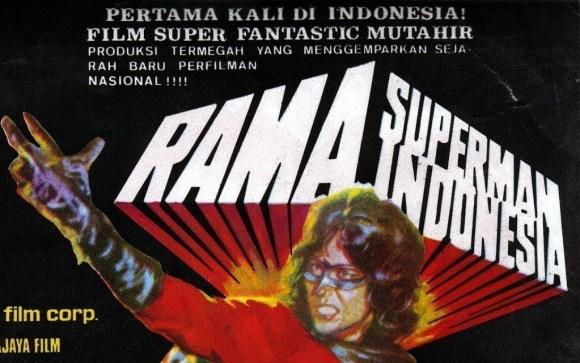 film superhero indonesia rama superman indonesia 1974