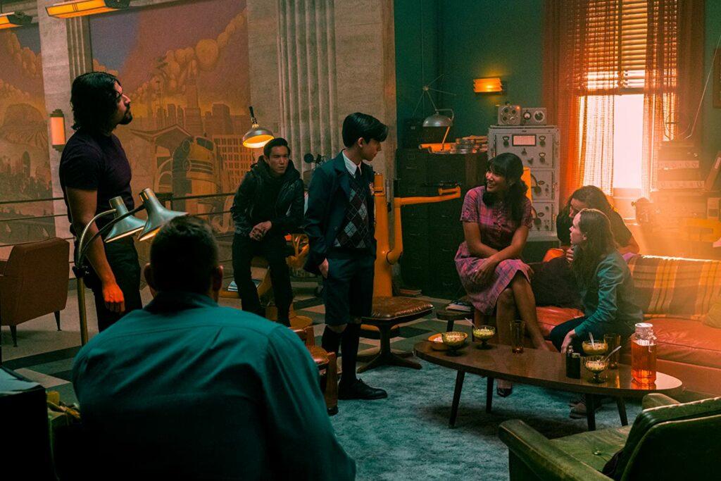 pemeran utama serial The Umbrella Academy season 2