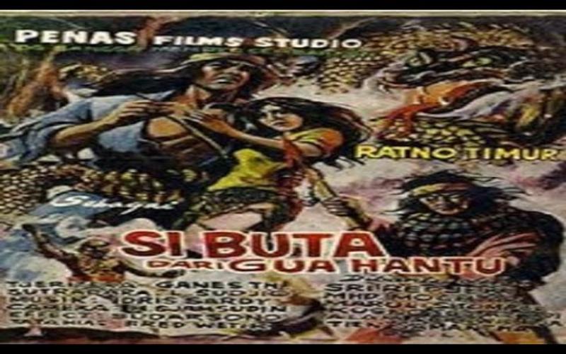 film superhero indonesia si buta dari gua hantu (1970)