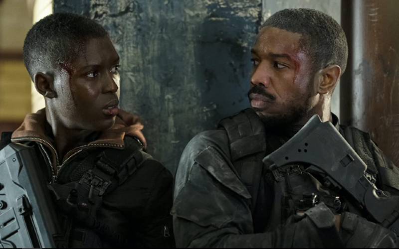 Jodie Turner-Smith dan Michael B. Jordan