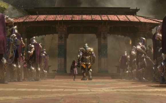 flashback Thanos