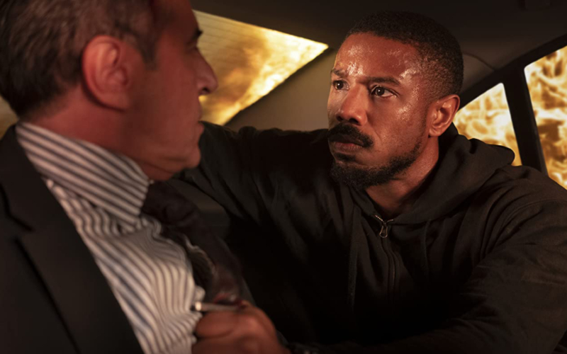 Michael B. Jordan dalam film Without Remorse