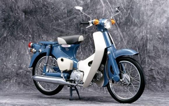 sepeda motor Super Cub C50