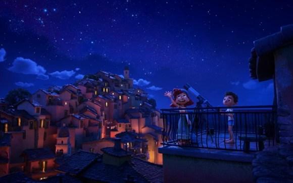 animasi film Luca 2021