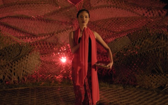 Della Daltyan sebagai Sukma dalam film Detak