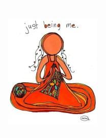 Knitting is meditation.