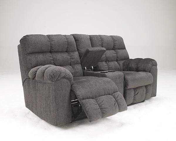 Acieona Reclining Sofa With Drop Down Table Marjen Of