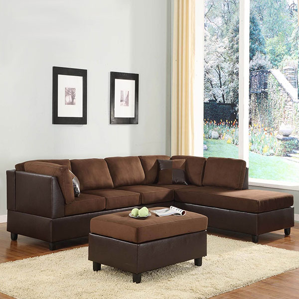 Sectional Sofa Chaise And Ottoman