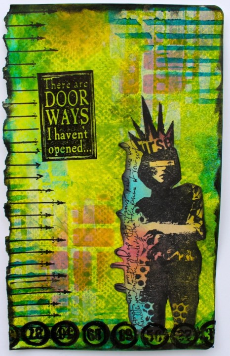 Marjie Kemper art journal 05272015