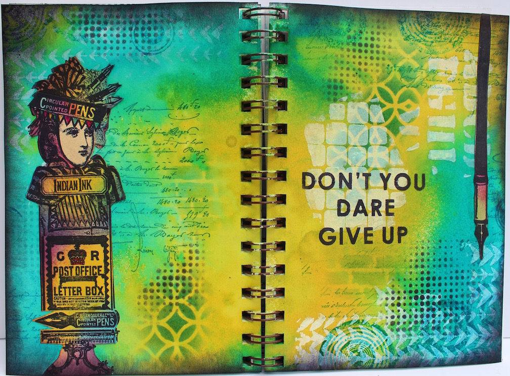 Marjie Kemper art journal 06202015