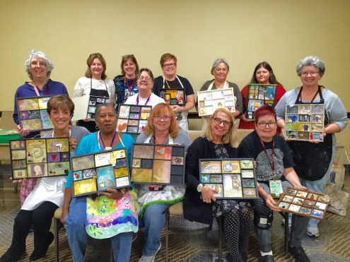 Art Is You 2015 - Sunday class with Marjie Kemper