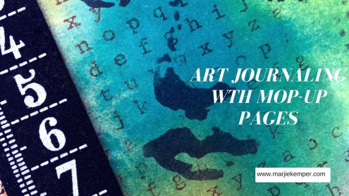 Marjie Kemper Video - Art Journaling with Mop-up Pages