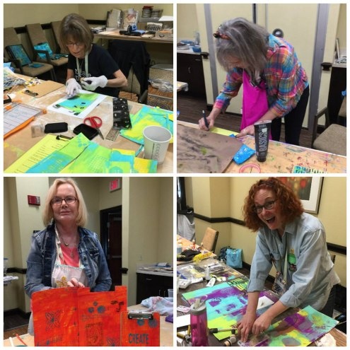 Art is You 2016 Dress Up Your Desktop class with Marjie Kemper