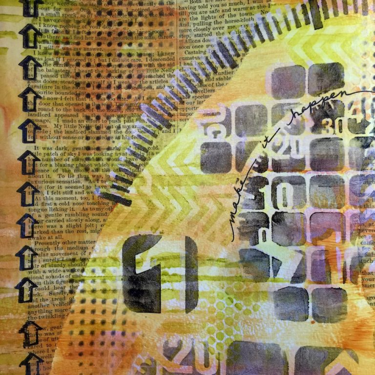 Between the Lines Art Journal Series