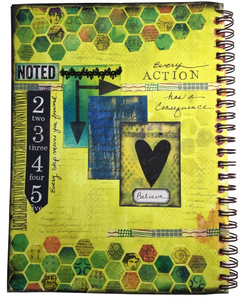 Art Journaling with ATCs and diecuts (Marjie Kemper)