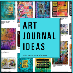 Art journaling ideas on Pinterest