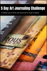 5 Day Mixed Media Art Journaling Challenge with Marjie Kemper