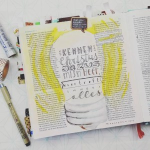 Biblejournaling Marjoleins Creations Jezus kennen