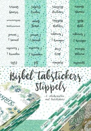 Biblejournaling tabstickers stippels