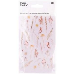 droogbloemen gelstickers