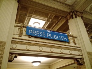 Press Publish in Portland, OR.