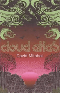 "Book cover for ""Cloud Atlas"""