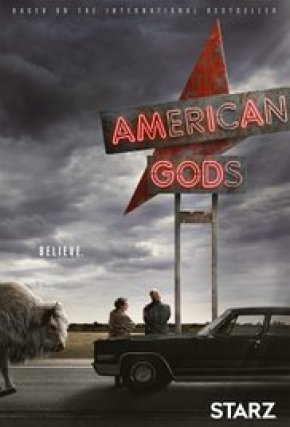 Starz series American Gods cover image