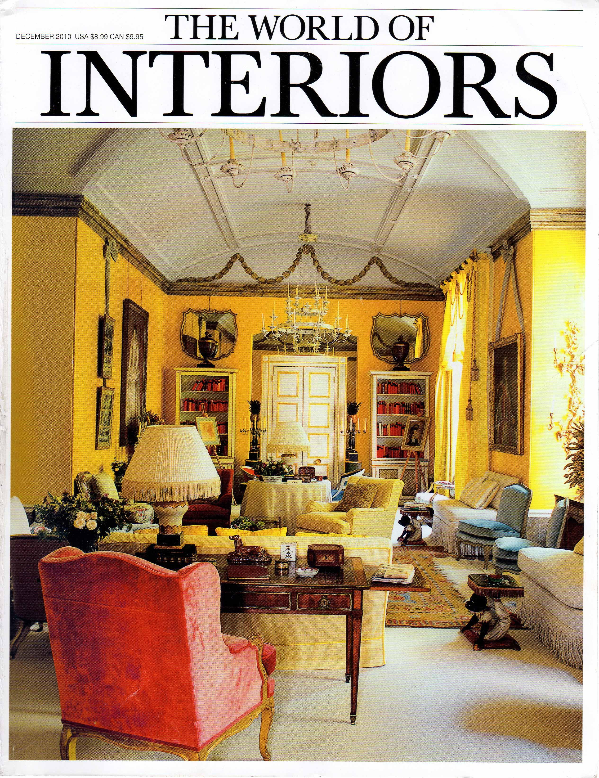 World Of Interiors December 2010