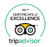 Trip Advisor Badge 2017