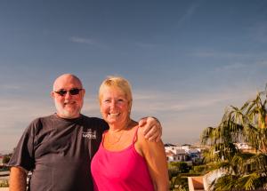 Tony and Lynne Unwin