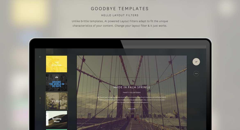 The Grid web design tools